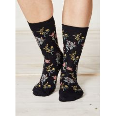 Botanica Socks - Navy
