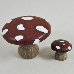 Mushroom Table & Stool Set