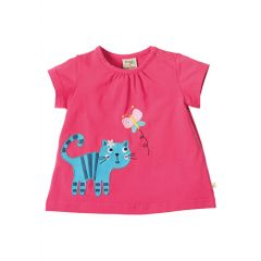 Applique Cat Top
