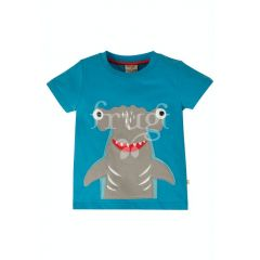 Applique Shark Top