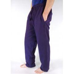 Plain Drawstring Trousers