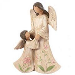 Angel mother & daughter