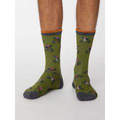 Garra Bike Socks - Olive
