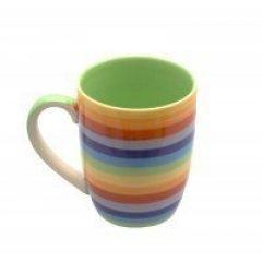 Rainbow Tapered Mug
